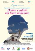 Donna e salute nel terzo millennio - Congresso Interregionale Abruzzo, Lazio, Marche, Molise, Umbria