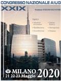 XXIX congresso nazionale AIUG 2020