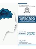 XXI Congresso SINPF – Elementi Innovativi in Neuropsicofarmacologia e Nuove Frontiere Terapeutiche