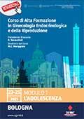 Corso di Alta Formazione in Ginecologia Endocrinologica e della Riproduzione. Modulo 1 L'ADOLESCENZA