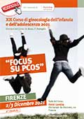 """XIX Corso di ginecologia dell'infanzia e dell'adolescenza 2021 """" FOCUS SU PCOS"""""""