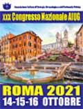 XXX Congresso Nazionale AIUG Roma 2021
