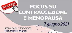 Focus su contraccezione e menopausa